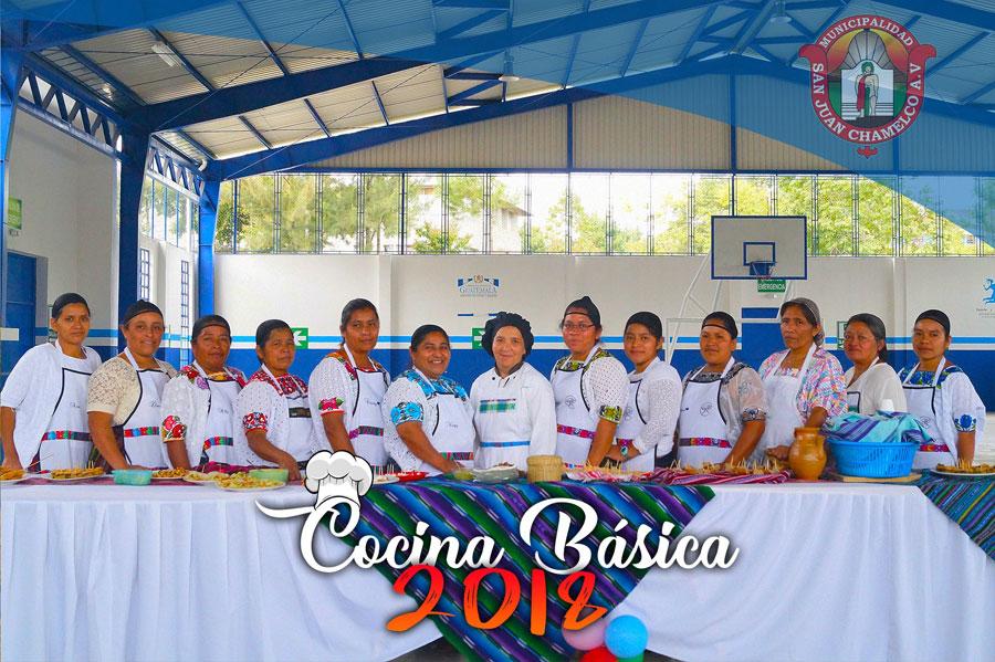 Clausura curso de cocina b sica municipalidad de san - Curso cocina basica ...